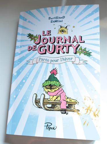 Couverture Le Journal de Gurty - Parée pour l'hiver - Bertrand Santini - Pepix
